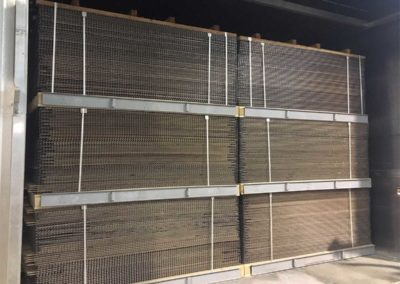 DryWoodMesh® Drying kiln for wooden lamellas